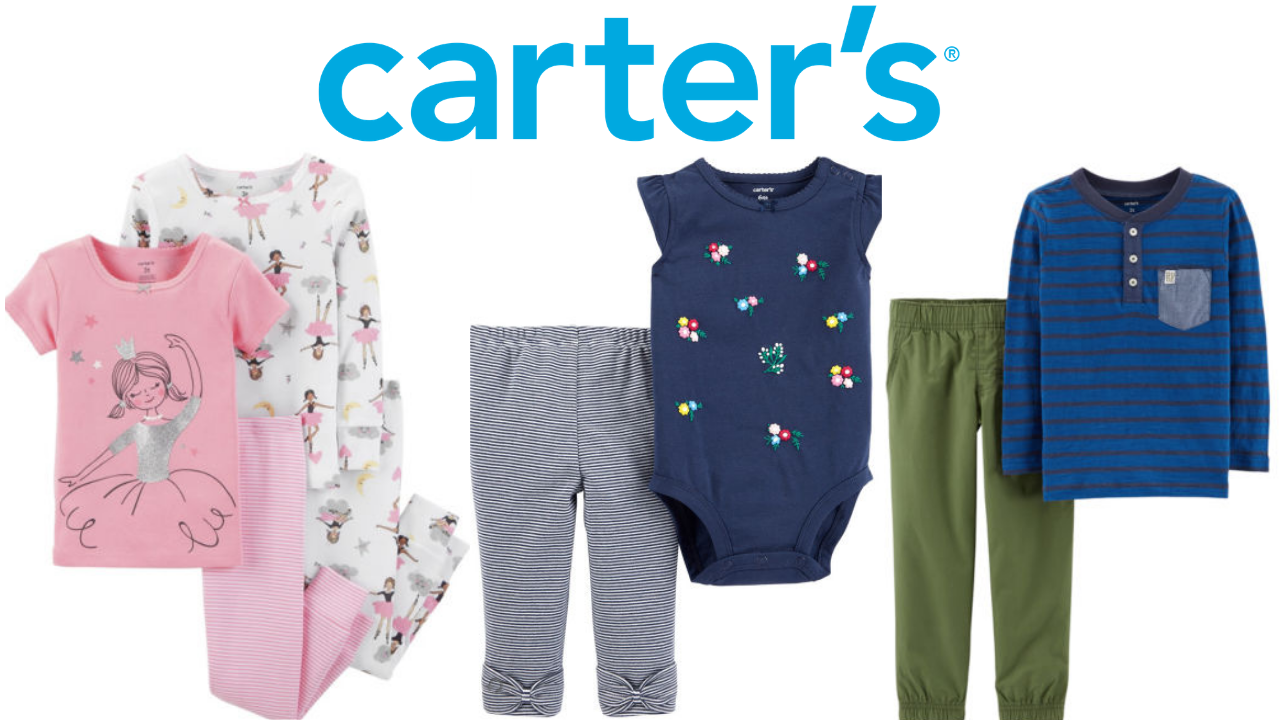 Carter S Baby Clothes Starting At 2 44 Southern Savers