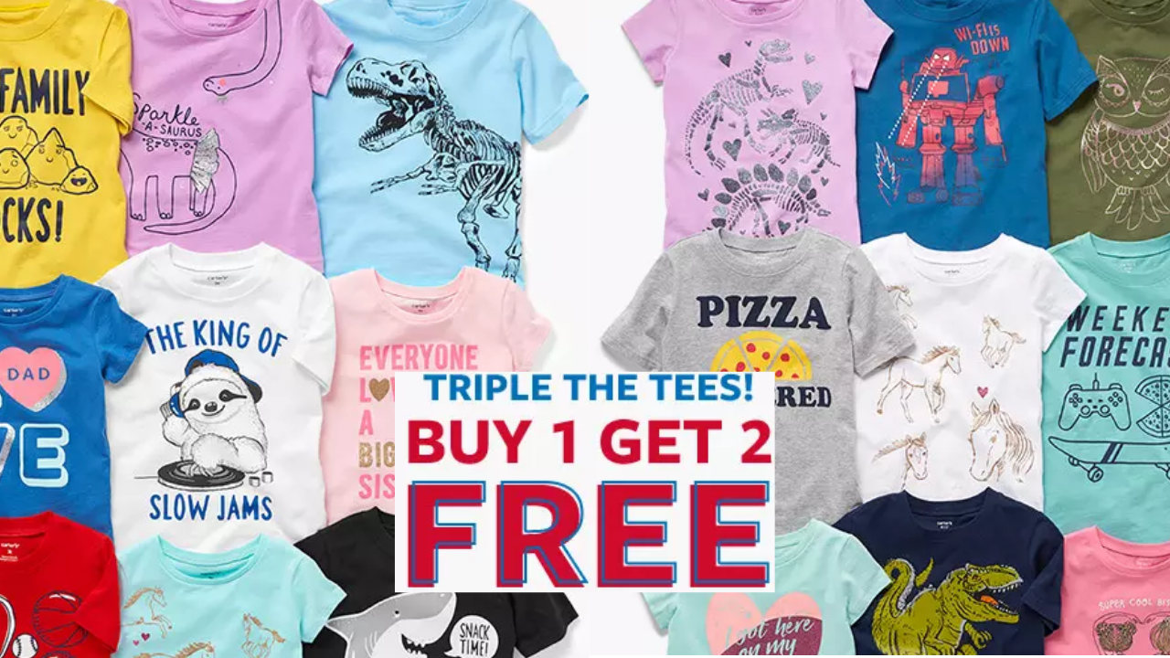 7a8c11cad Carter's Graphic Tees, $4 :: Southern Savers
