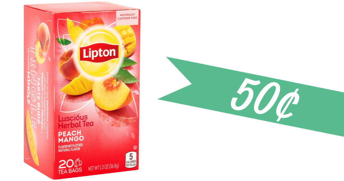 graphic about Lipton Tea Printable Coupons named Clean Publix Shop Coupon Would make Lipton Tea 50¢ :: Southern