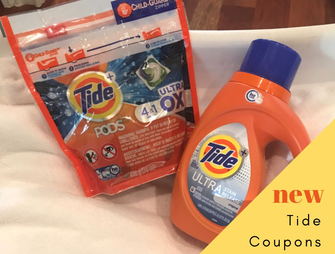 Tide Coupons 2 95 Detergent Paper Towels Southern Savers