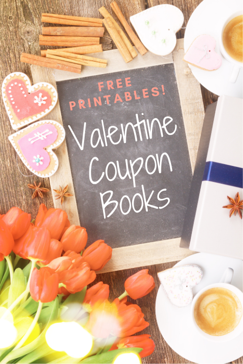 Here's a great idea for a Valentines day gift for your spouse or kids. You can use these FREE printables to make cute Valentine coupon books.