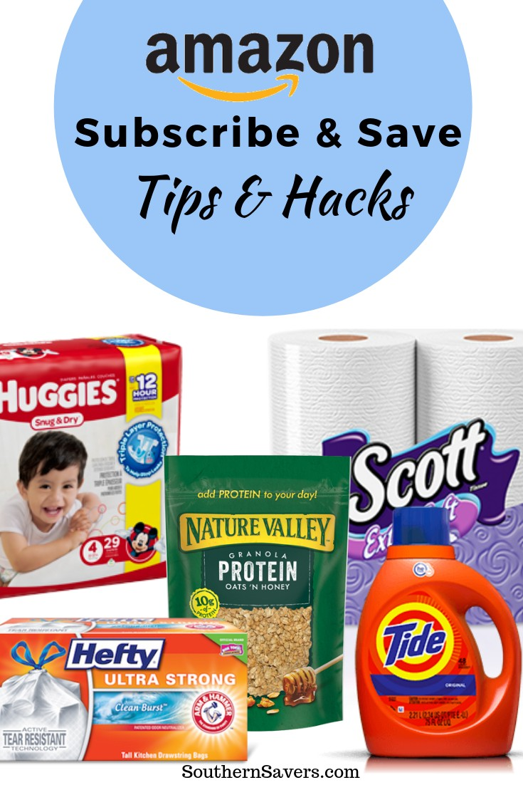 Here are my favorite Amazon Subscribe & Save tips, tricks ands hacks for getting the best prices on everything you order.