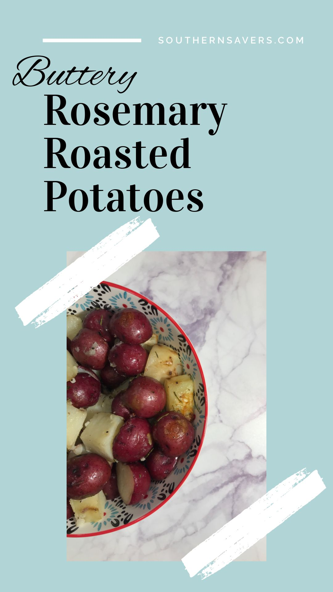 Our favorite way to roast veggies, this Buttery Rosemary Roasted Potatoes recipe will make you want it with every meal!  Plus grab a new $1.50 off coupon to grab Brummel & Brown Spread super cheap at Publix!  #sponsoredpost