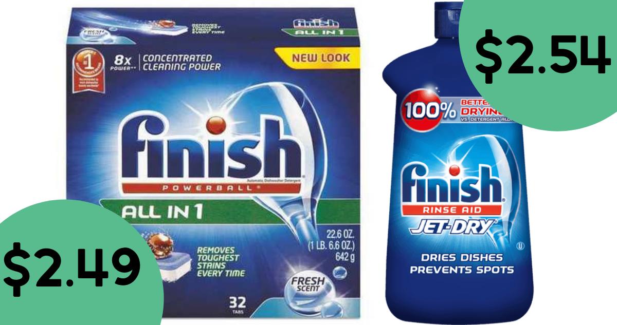 Finish Deals At Publix Dishwasher Detergent Only 2 49