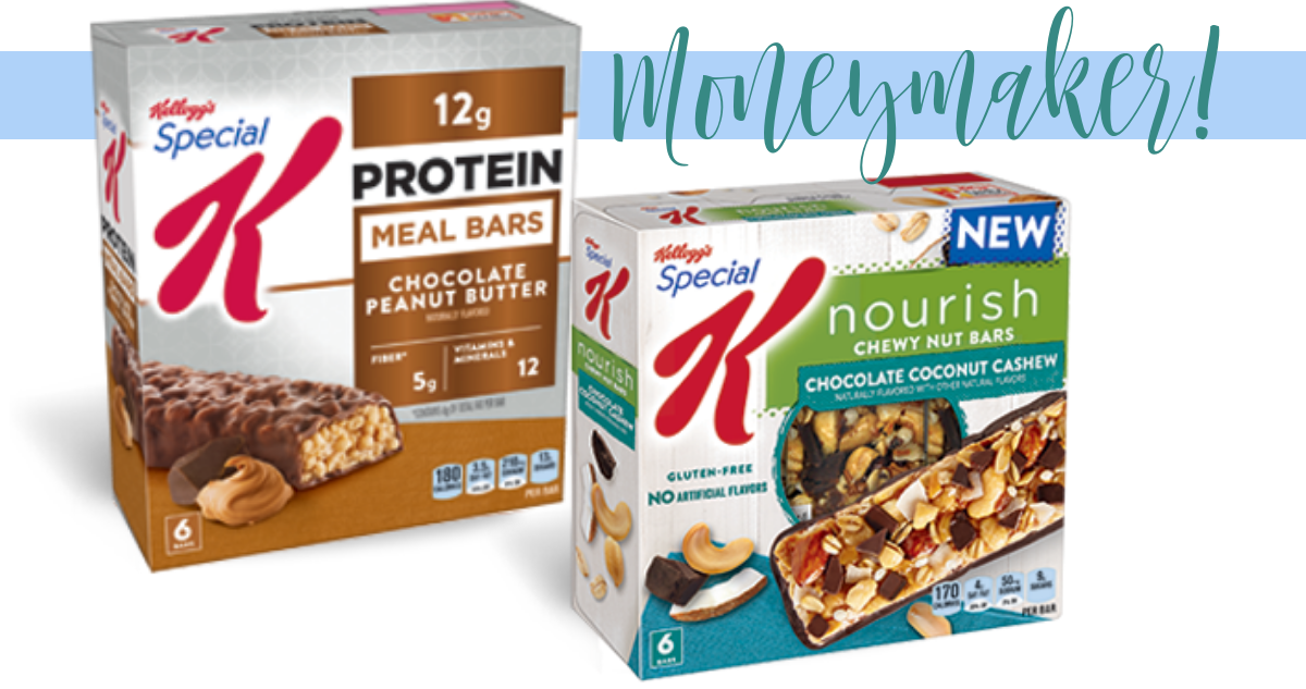 coupons special k bars