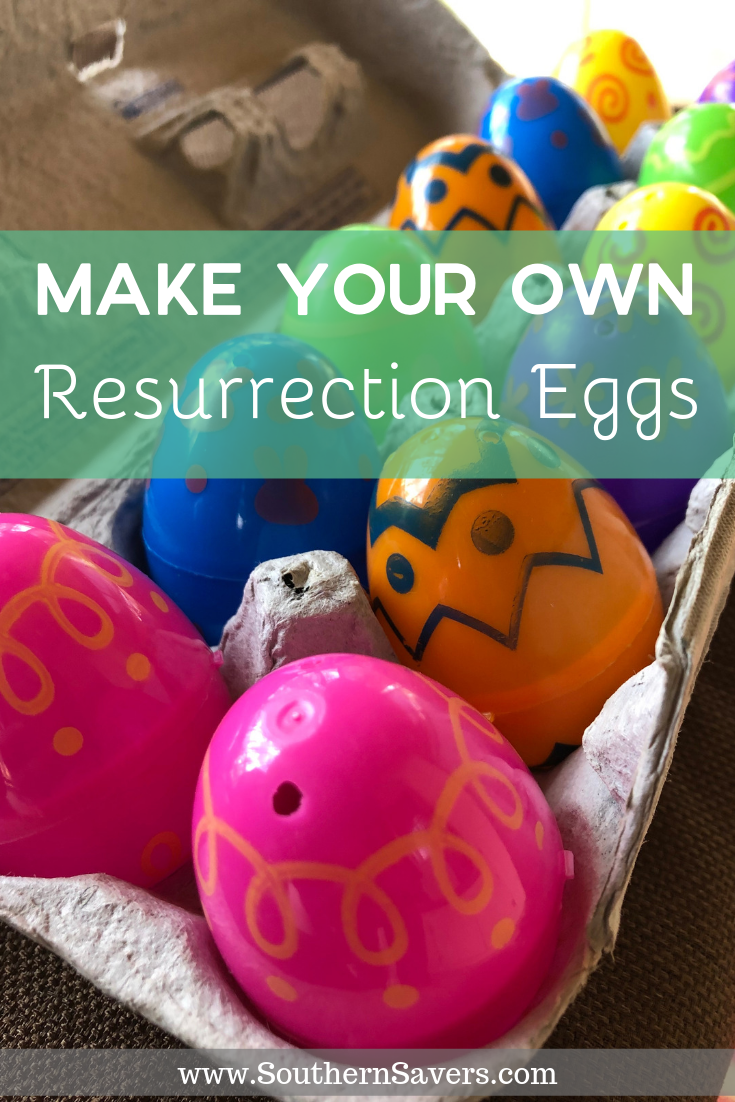 Resurrection Eggs are a popular tool to help prepare your family to celebrate Easter—and you can make them yourself for $1 or less!