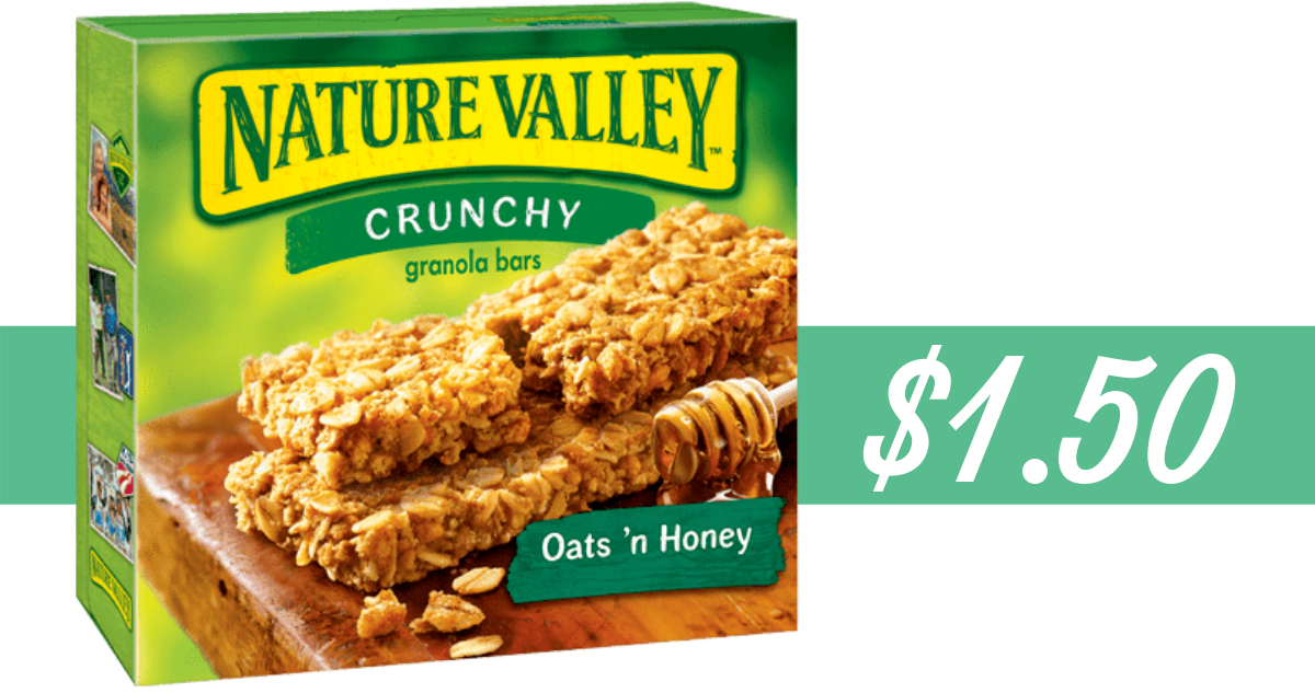 photograph regarding Nature Valley Printable Coupons identified as Mother nature Valley Coupon Would make Granola Bars $1.50 :: Southern