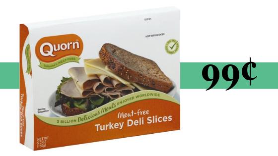 Quorn Meatless Turkey Deli Slices: 99