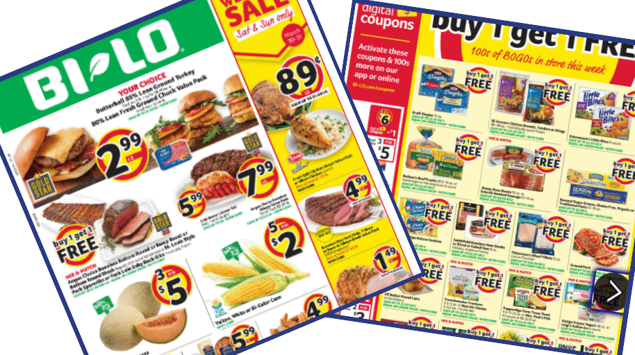 Bi Lo Weekly Ad 3 27 4 2 Southern Savers
