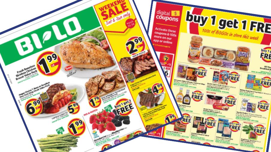 Bi Lo Weekly Ad 3 20 3 26 Southern Savers