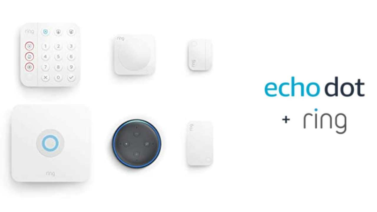 echo dot and ring
