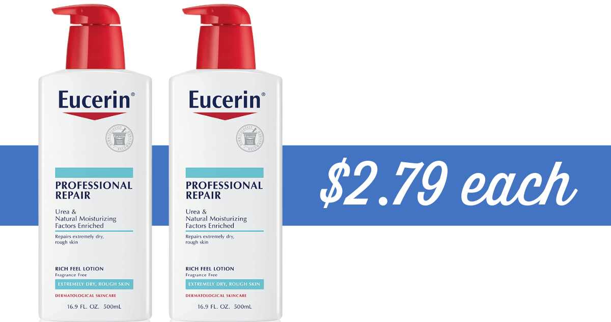 photograph regarding Eucerin Printable Coupon named Eucerin Coupon Results in Overall body Creme $2.79 :: Southern Savers