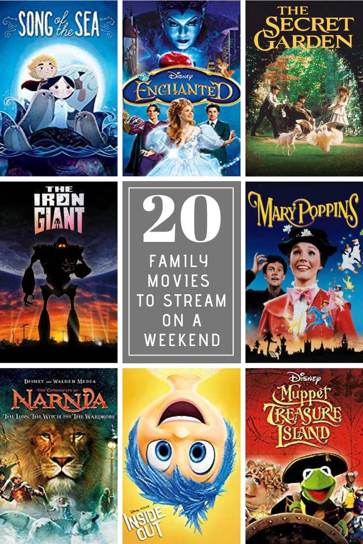 Watching a movie together is a fun way to spend Friday night, so here are 20 great family movies you can stream that will make everyone happy!