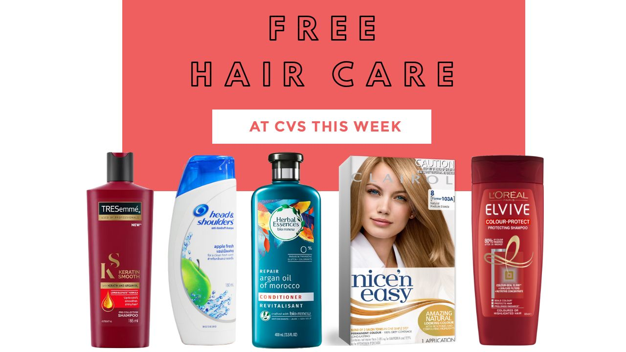 great cvs hair care scenarios   get it all free     southern savers