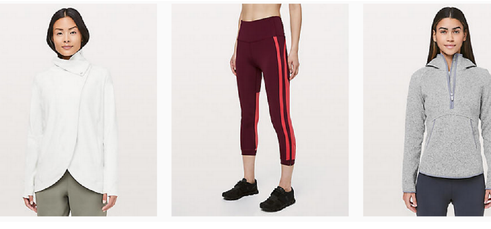 80% off Lululemon Activewear | Deals As Low As $9