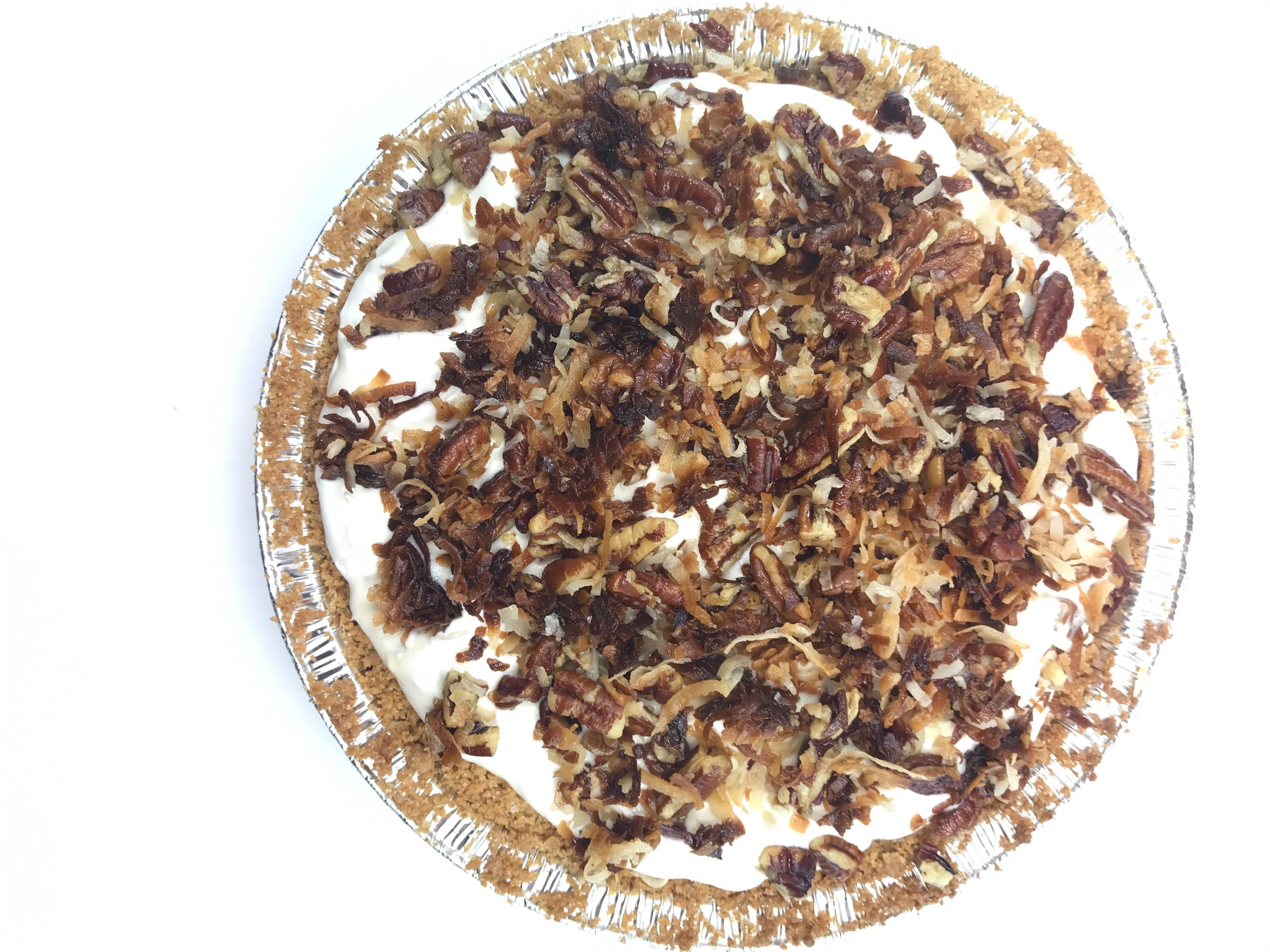 Caramel Coconut Freezer Pie
