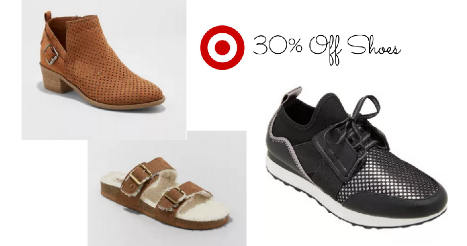 2715e13d8 Looking to save on shoes  Target is offering 30% off select women s shoes