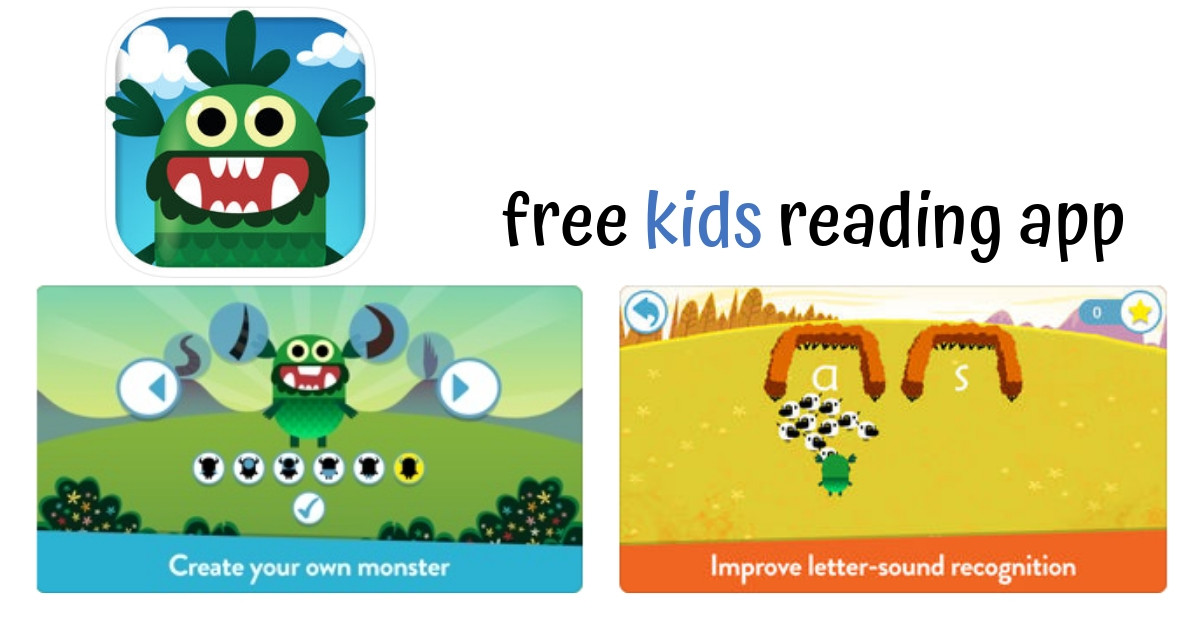 Free Teach Your Monster to Read App :: Southern Savers