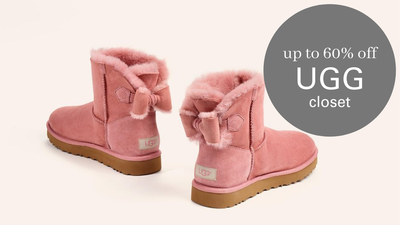 9286e1a21 Check out the UGG Closet End-of-the-Year Sale and save up to 60% off select  styles through 3/27!