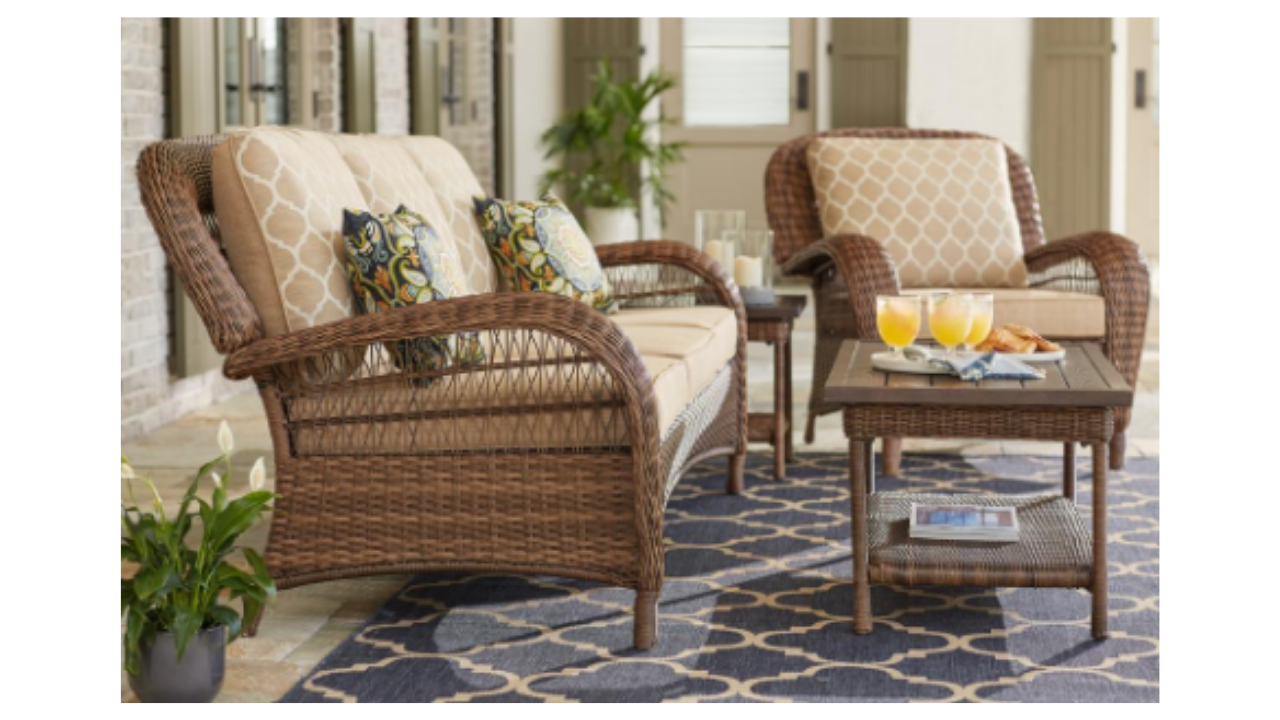 Are you ready for warmer weather and sitting outside today only get up to 30 off select hampton bay patio furniture plus free delivery