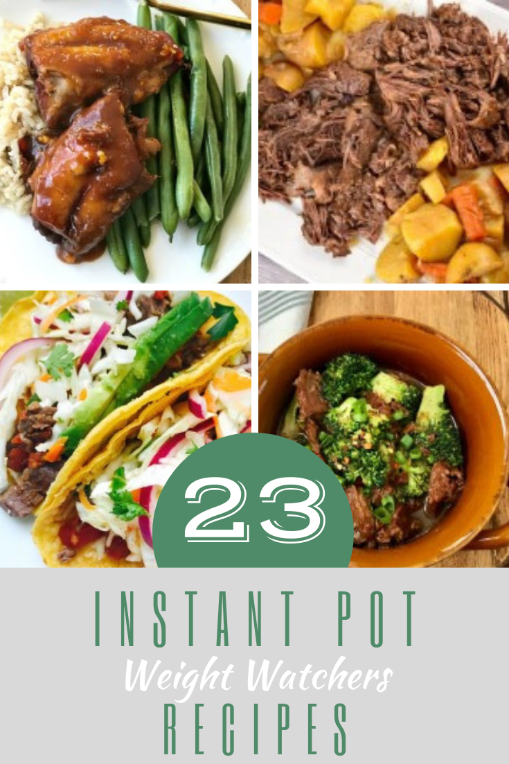 Meet your healthy eating goals with the most powerful kitchen appliance around. These 23 Instant Pot Weight Watchers recipes are all simple and delicious!
