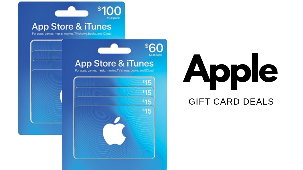 apple gift card deals