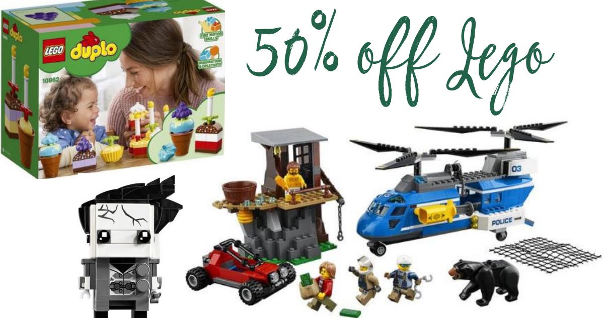 Barnes & Noble Deal | 50% off Lego Sets