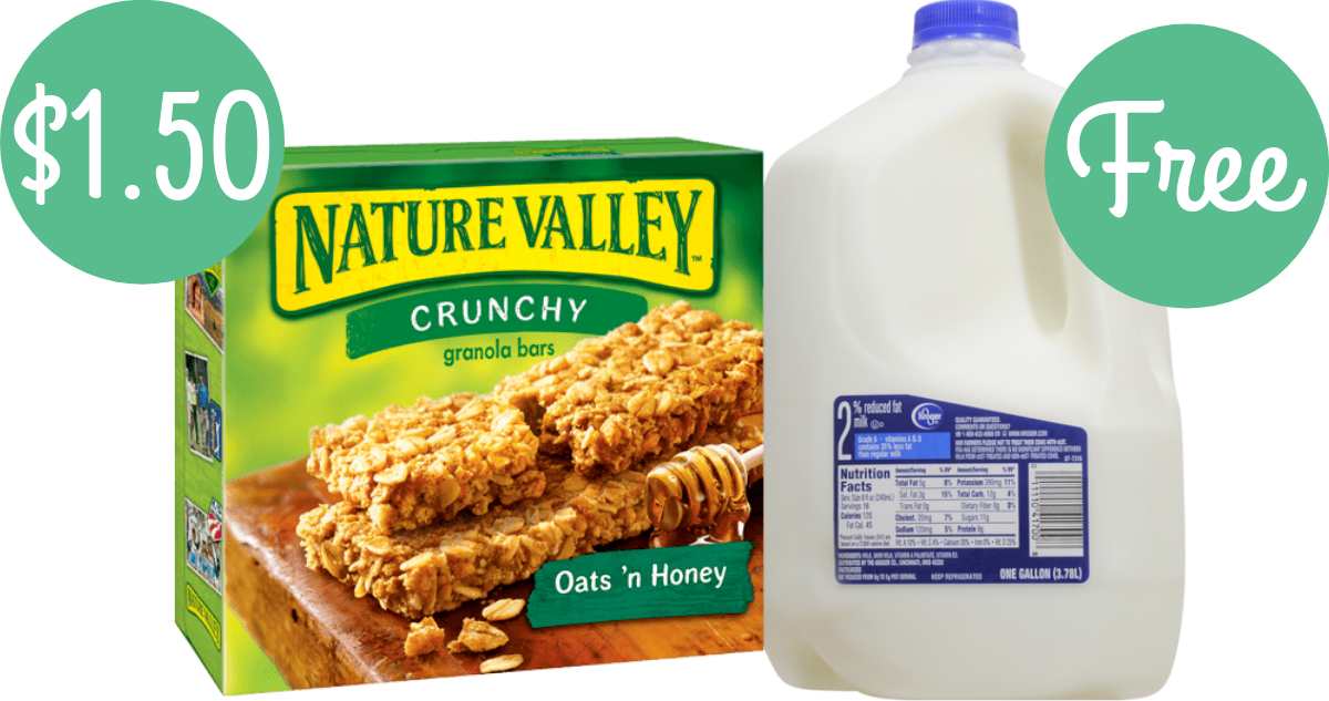graphic relating to Nature Valley Printable Coupons titled Mother nature Valley Coupon Results in Packing containers $1.50 + Totally free Milk