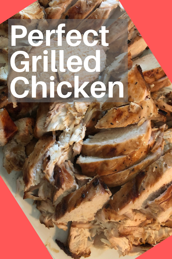 Let chicken marinade in this delicious concoction, then break out the grill to make perfect grilled chicken. Delicious hot or served on a salad!