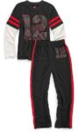 hanes boys two-piece pajama set
