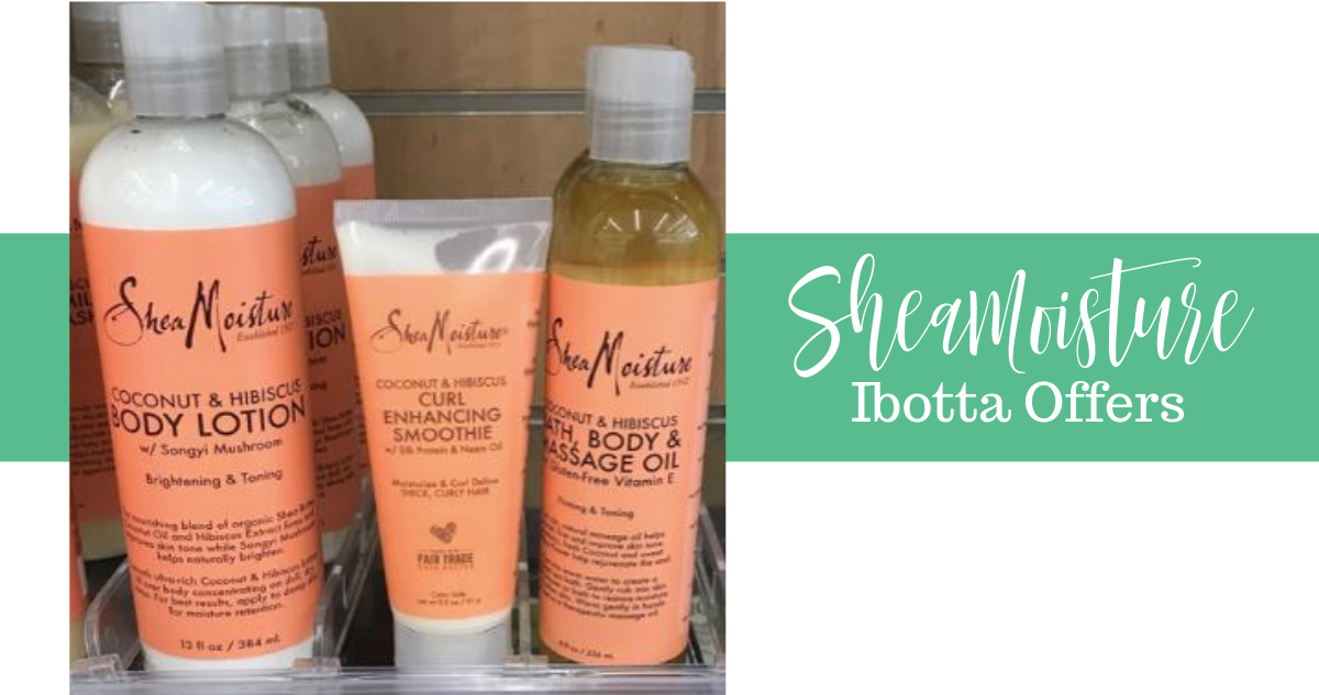 graphic regarding Shea Moisture Printable Coupon titled Fresh new SheaMoisture Ibotta Bargains Offers at Walgreens