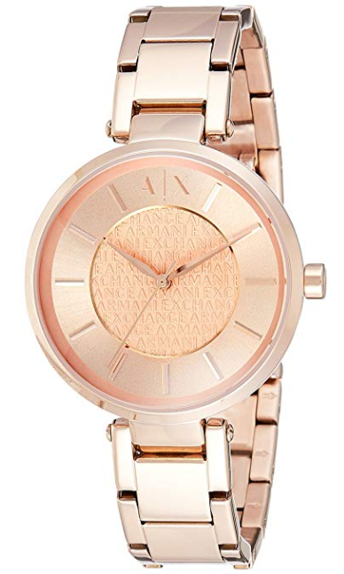 7abee1c14aca Women s Armani Exchange Rose Gold Watch