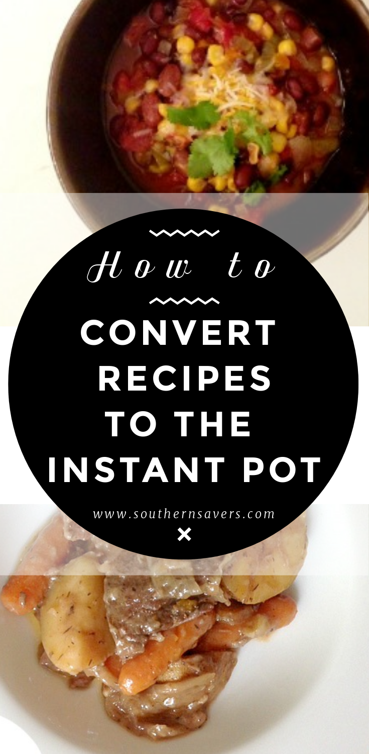 You don't have to give up your family's favorite meals now that you have an Instant Pot. Learn how to convert slow cooker recipes to the Instant Pot!