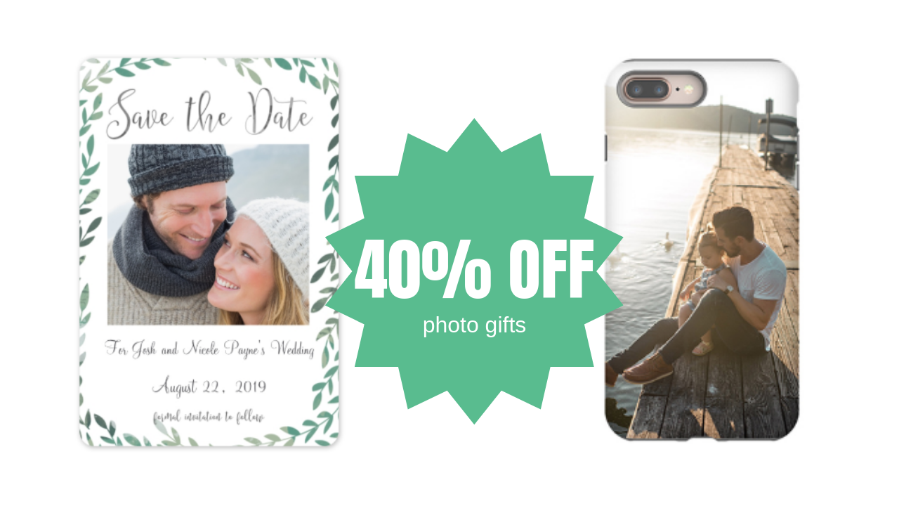 40  off cvs photo gift order   free local pick up    southern savers