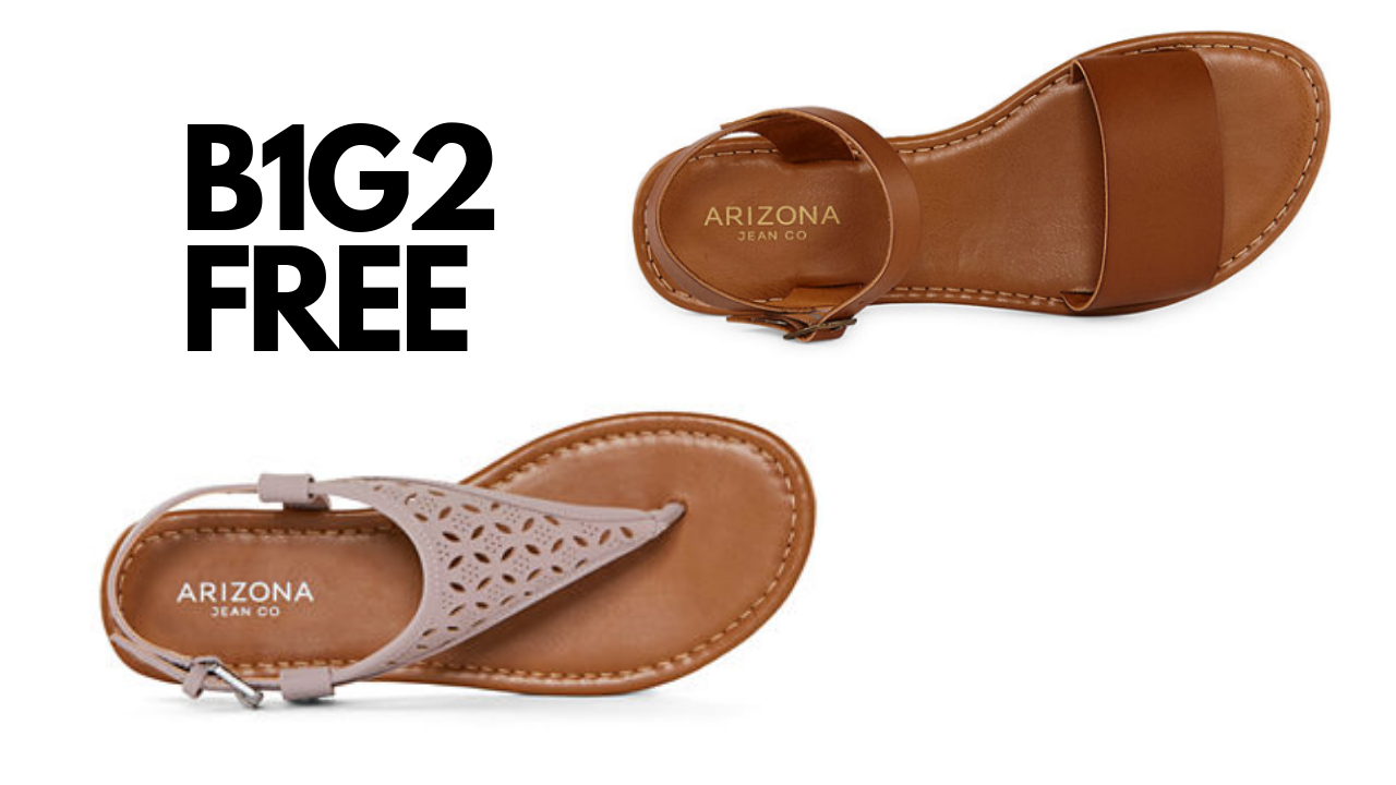 5a6840b26a02f Need some new shoes for spring and summer  Shop the JCPenney B1G2 women s  sandals sale and get 3 pairs of shoes for only  13.33 each!