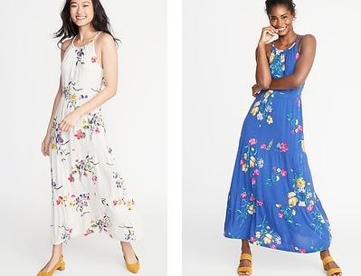 7749307f143a3 Today only, Old Navy has women's Maxi Dresses for $10. Also through  tomorrow, grab 30% off everything with coupon code HURRY.