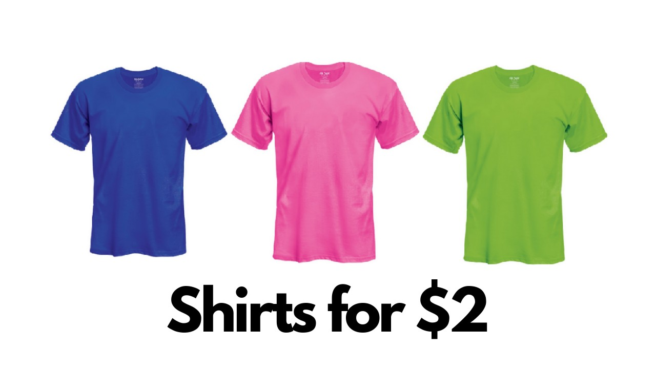 257a45da Michaels: $2 Gildan Short Sleeve T-Shirts :: Southern Savers