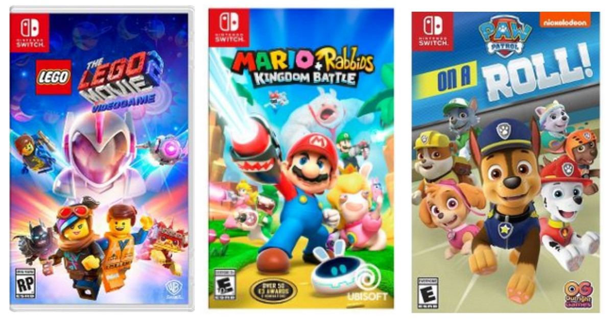 Target: Nintendo Switch Games for $19 99 :: Southern Savers