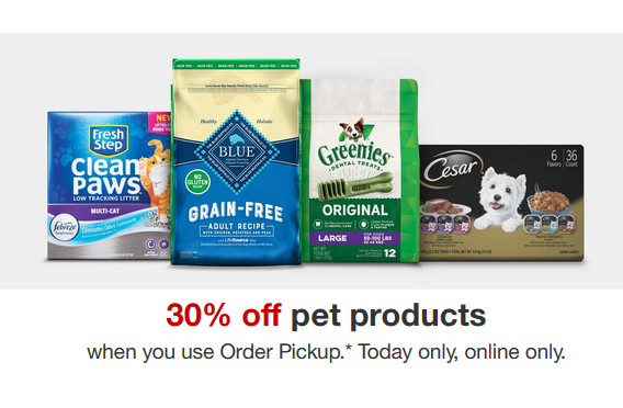 Target Deal: 30% off Pet Supplies :: Southern Savers