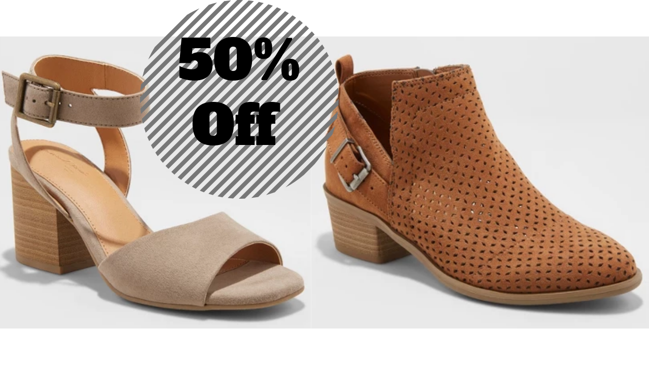 c175d2f1d04 50% Off Select Women s Shoes at Target    Southern Savers