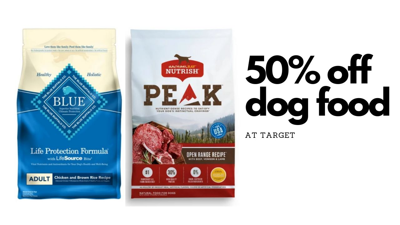 picture about Blue Buffalo Dog Food Coupons Printable titled Earlier mentioned 50% off Doggy Meals at Focus This 7 days! :: Southern Savers