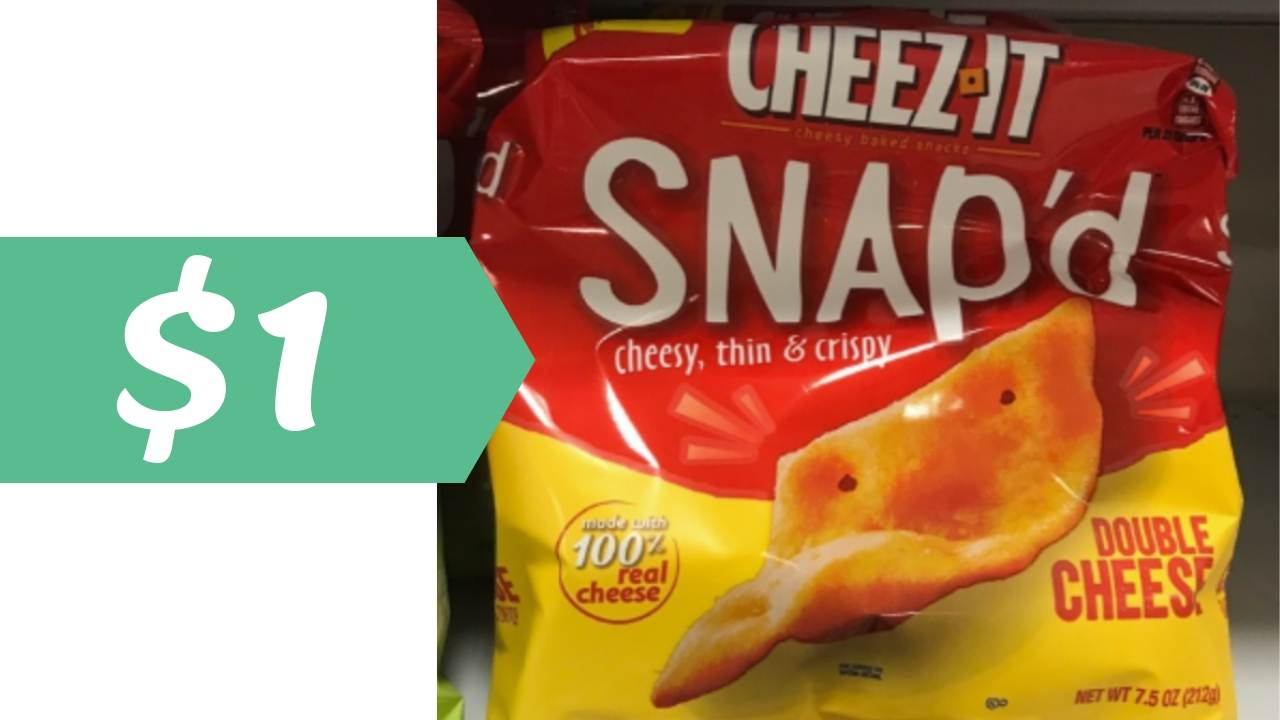 photo about Cheez It Coupon Printable identified as Cheez-It Coupon Tends to make Snapd Cracker $1 :: Southern Savers