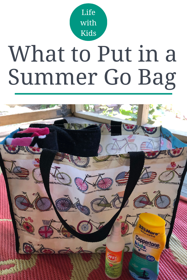 Be ready for anything summer throws at you by packing your own summer go bag using our simple guide to make sure you don't forget anything!