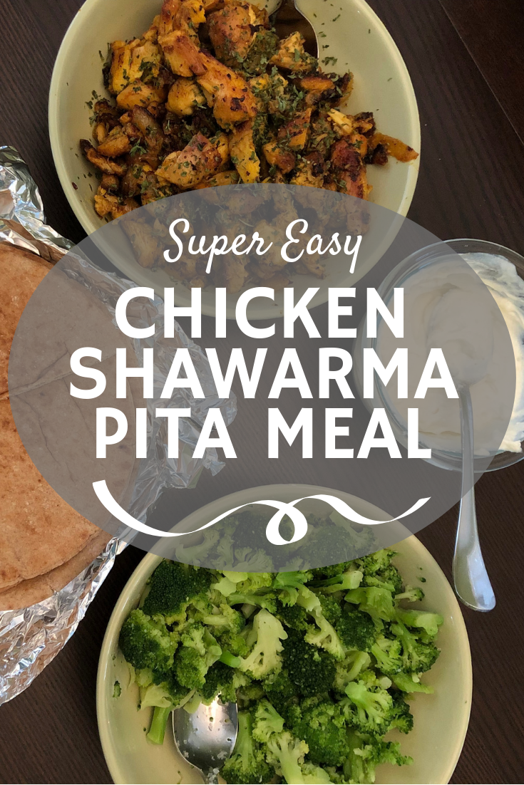 Looking to add some international flavor to your meal plan? Try this easy chicken shawarma recipe with pita and yogurt sauce!