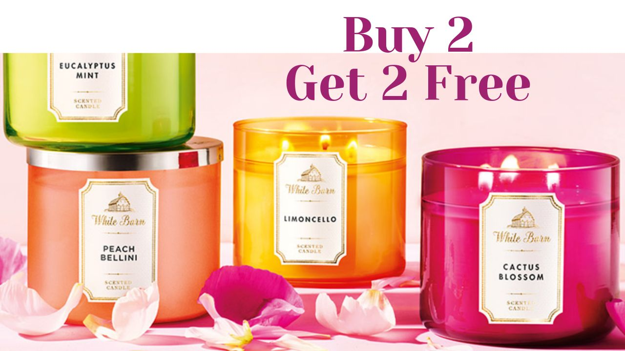 Bath Amp Body Works B2g2 Candles 10 Off 30 Coupon