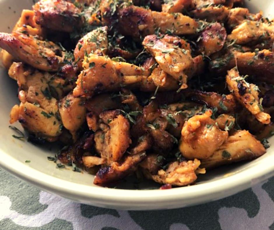 Easy Chicken Shawarma Pita Meal