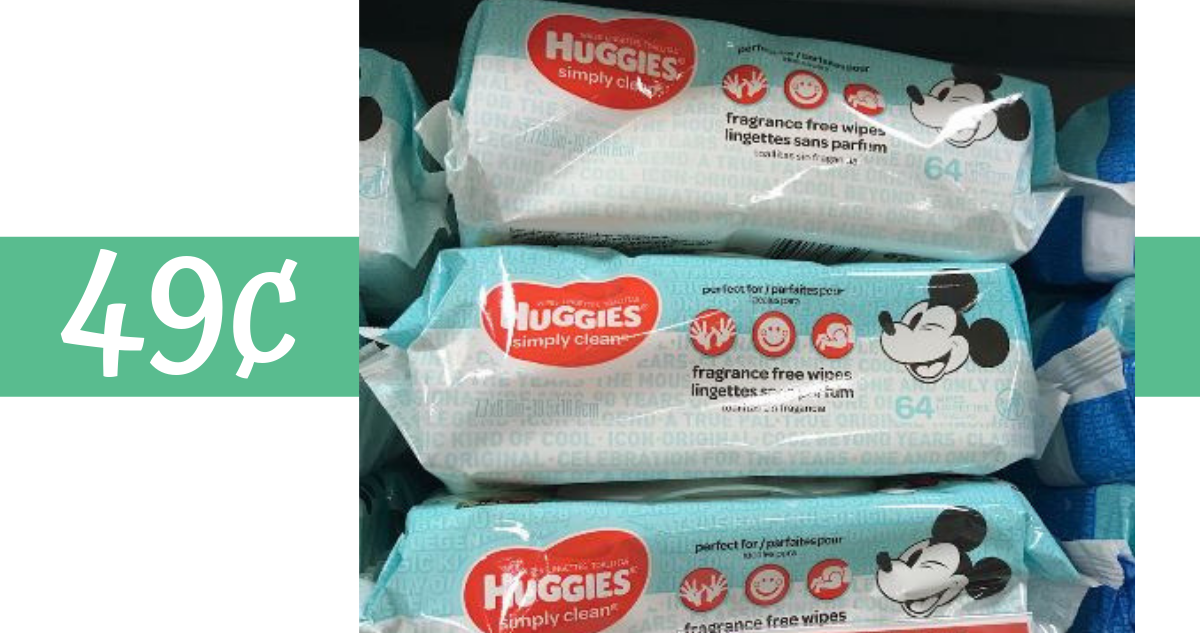 image regarding Pampers Wipes Printable Coupons identified as Huggies Coupon Helps make Boy or girl Wipes 49¢ :: Southern Savers