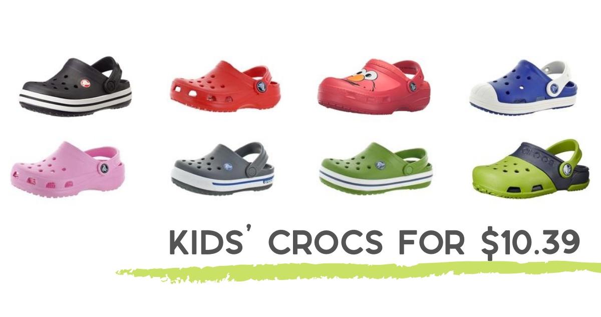 Rakuten: Kids' Crocs for $10.39 Shipped