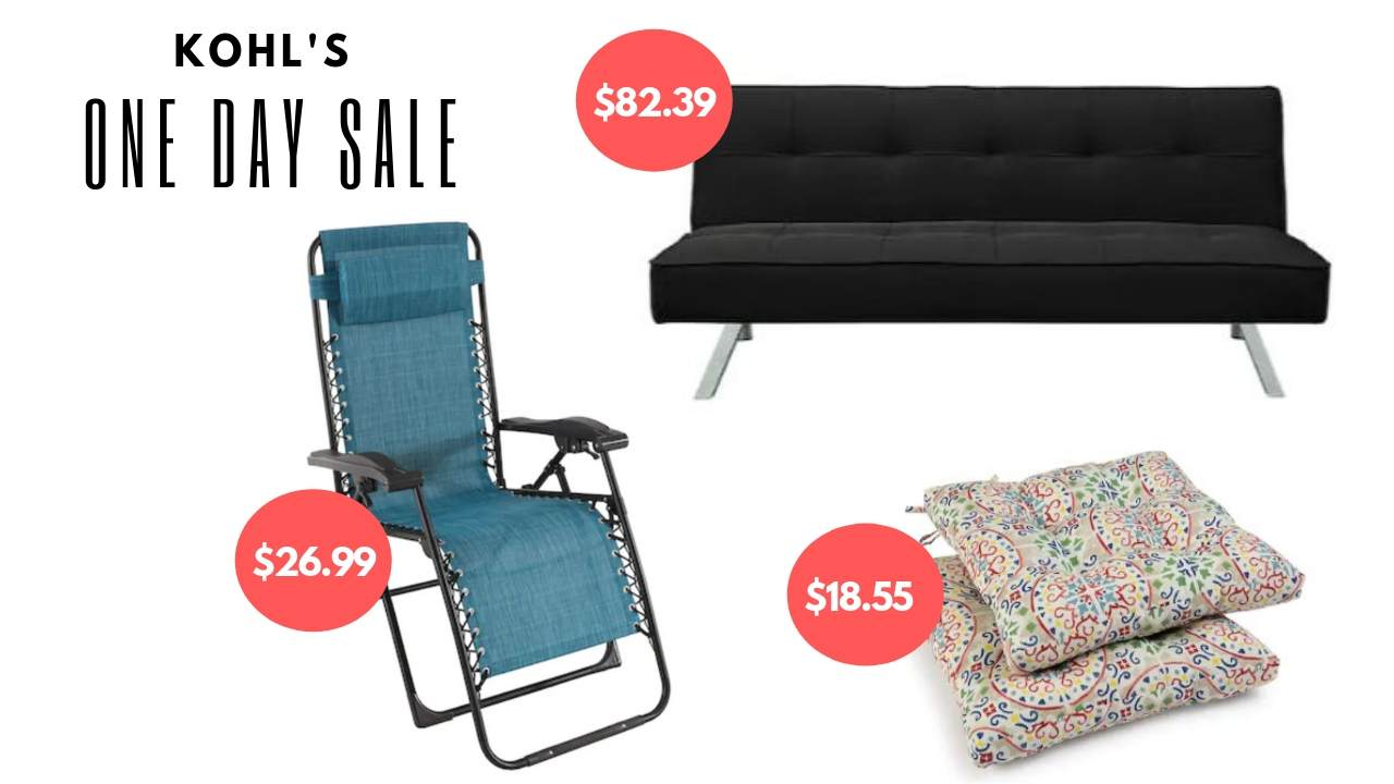 Kohls Memorial Day Save 50 Off Furniture Patio Southern Savers