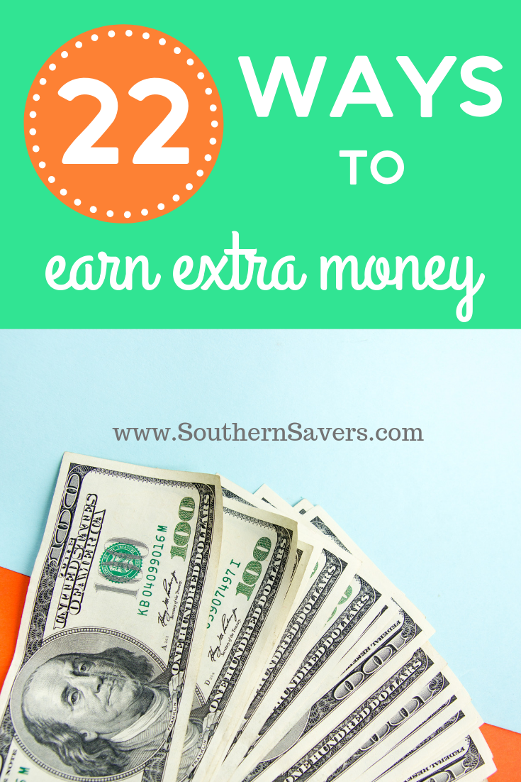 Looking for a side hustle? These 22 ways to earn extra money will give you some inspiration to supplement your income in a variety of different ways!